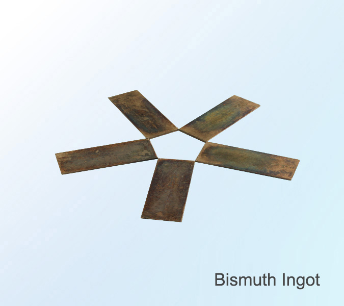 Low Price Bismuth Ingot(metal) Bismuth ingot high purity 99.99%,99.999%