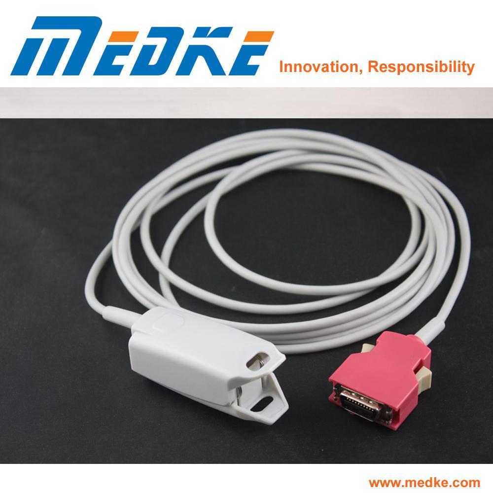 CE Medical Adult Finger Clip SpO2 Sensor Compatible with Masimo Rad SpO2 Probe, P9315c