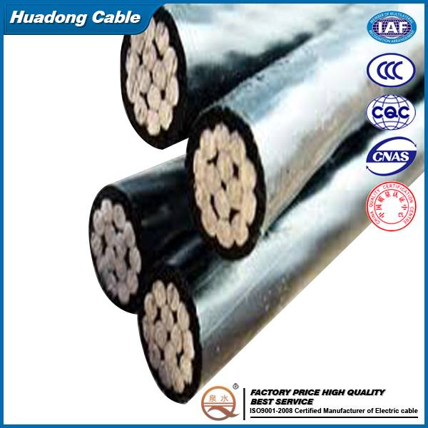 XLPE Insulated Aerial Bunched Cable Overhead ABC Cable
