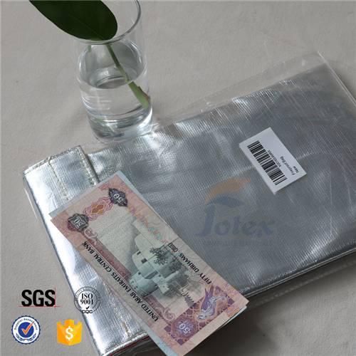 Christmas Gift $6 Money Cash Fire Safe Pouch Fireproof Document Bag