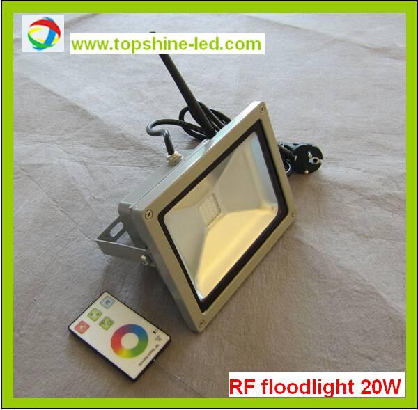 RGB RF LED flood light