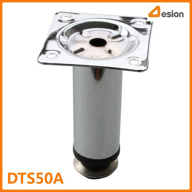 30mm Diameter Round Table Leg with Adjusting Glides