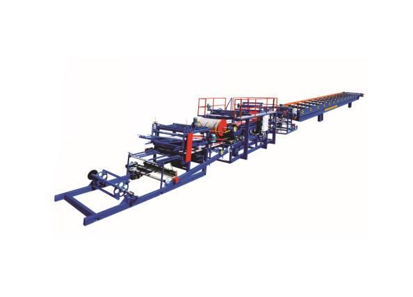 EPS Color Steel Sandwich Panel Machine
