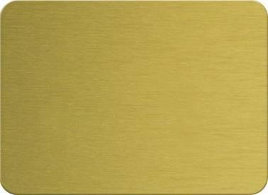 Brushed aluminium composite panel