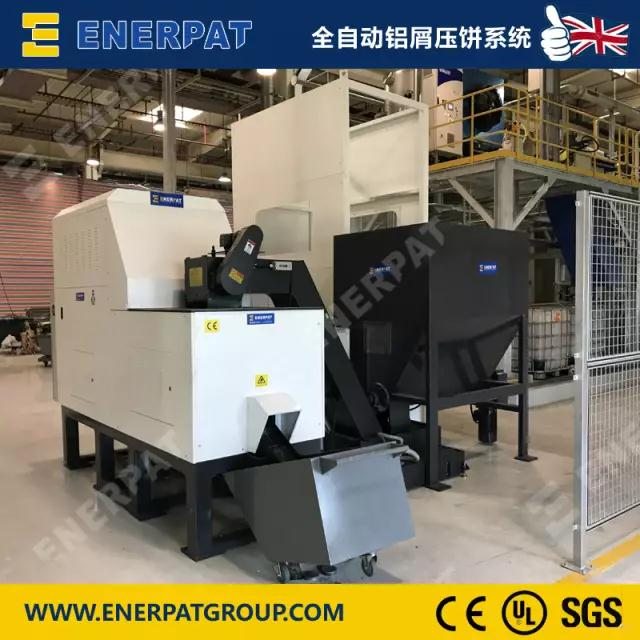 metal chips/sawdust briquetting machine