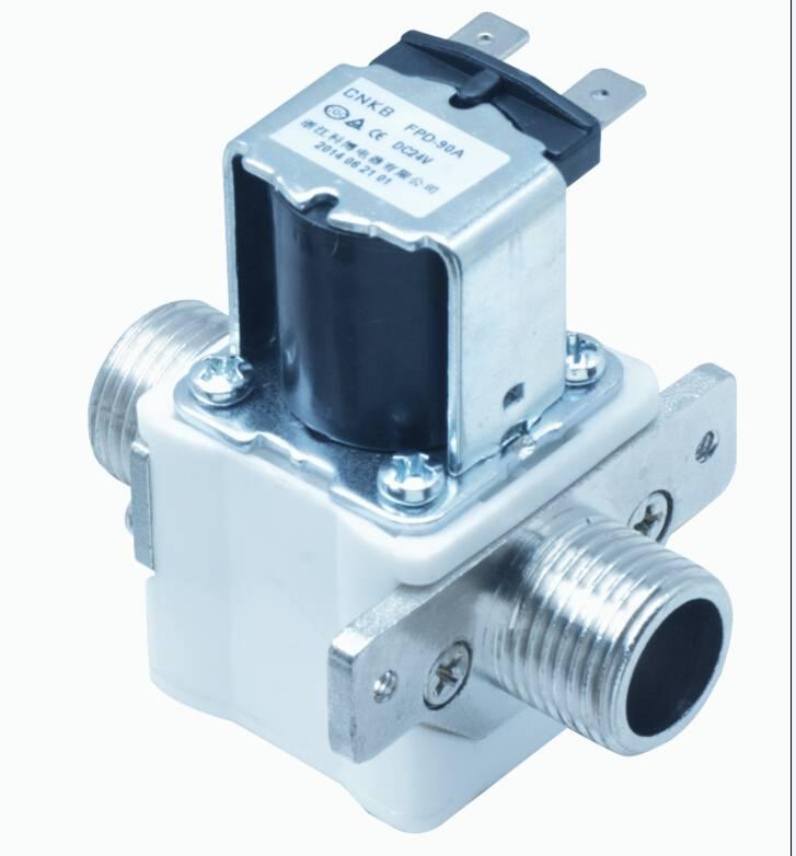 Solenoid valve for water heater