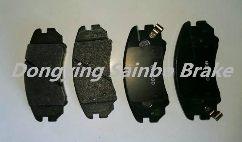 semimetallic non-asbestos brake pads