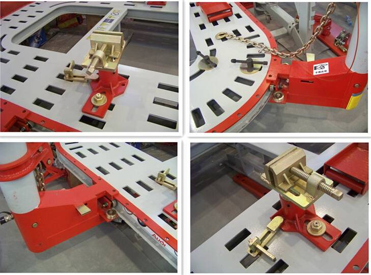 Tianyi auto body pulling machine/car repair equipment/auto chassis alignment bench for sale