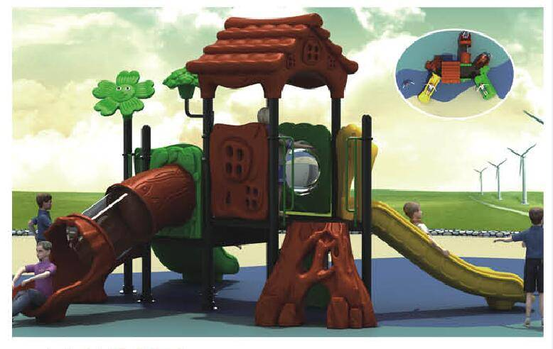 Outddor playground equipment forest series