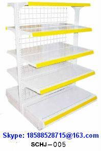 Goods Shelf 5-Layer Display Rack Iron Wire Mesh Back direct Sale SuperMarket/Shop/Store SCHJ-005