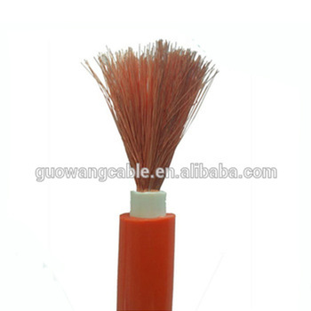 Flexible rubber sheathed cable for mobile welding machine