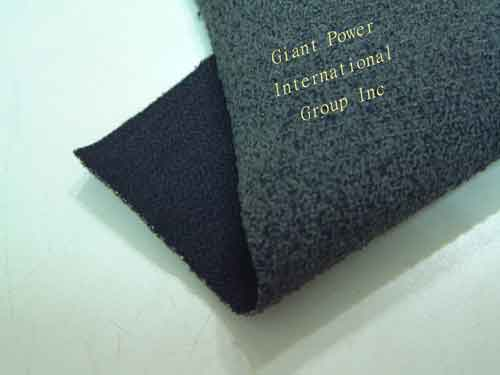 Heavyweight stretch Kevlar abrasion resistant coated fabric