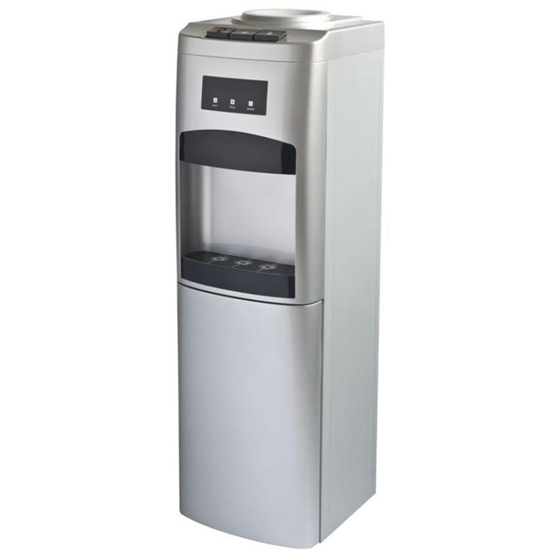 Arc front panel floor standing water dispenser, hot & cold water dispenser with cabinet