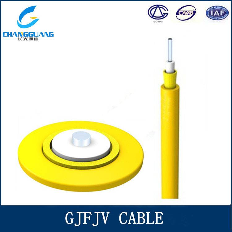 FTTH drop cable 2 core fiber optic Self-Supporting Outdoor FRP PVC or LSZH