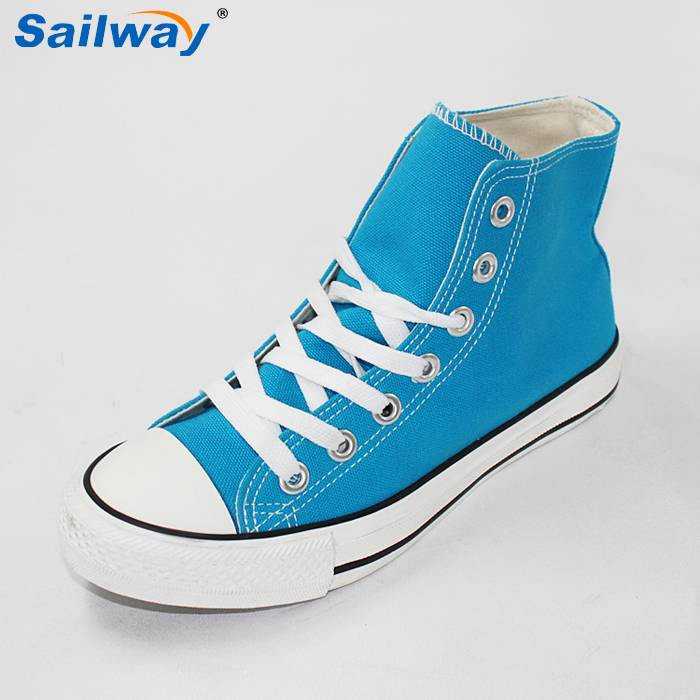 slip last canvas sneakers shoes high top