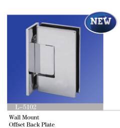 NEW! Brass Shower Hinge/Glass Door Hinge L-5102