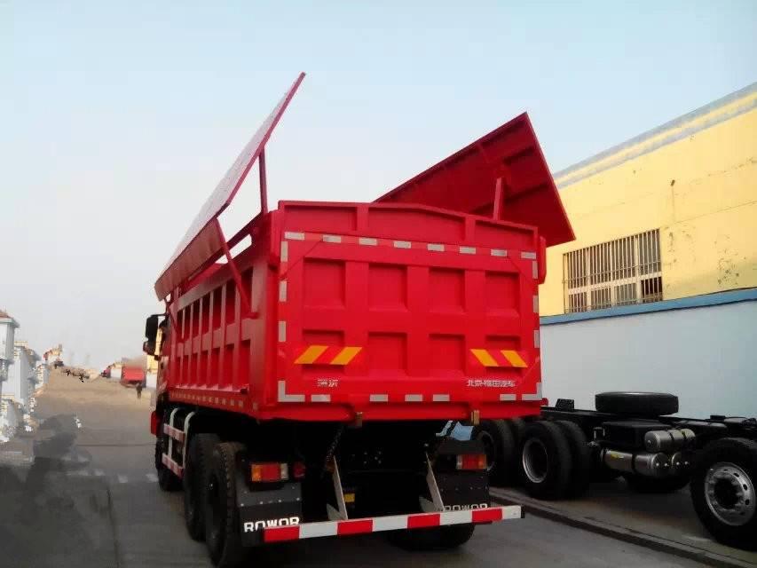 Ruvii heavy duty dumper truck/ tipper truck 10 to 20 ton loading capacity