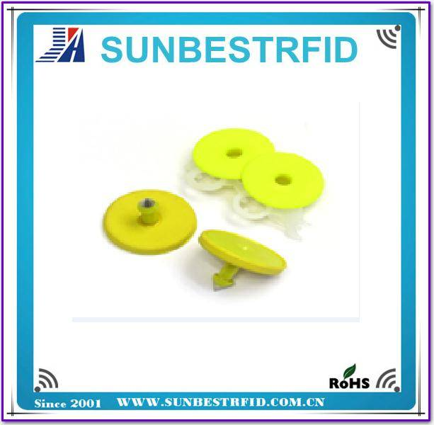 RFID Plastics Ear tag for Animal Identification
