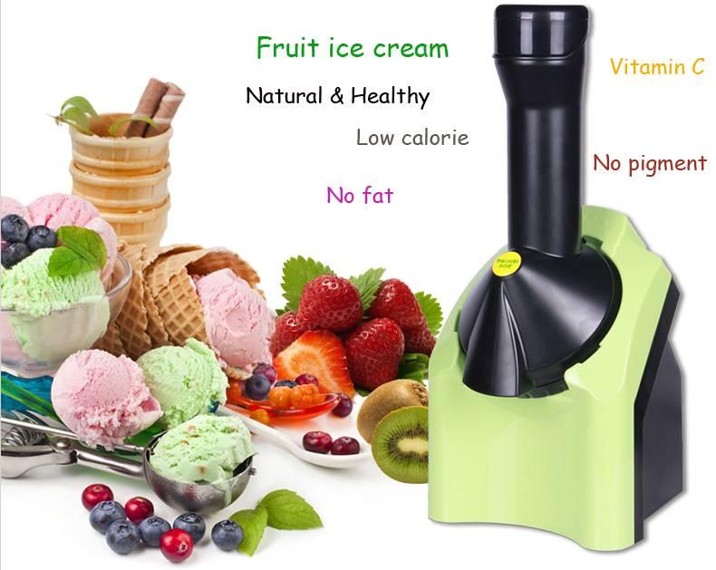 Household fruit ice cream maker, fruit ice-cream machine, Ice crusher