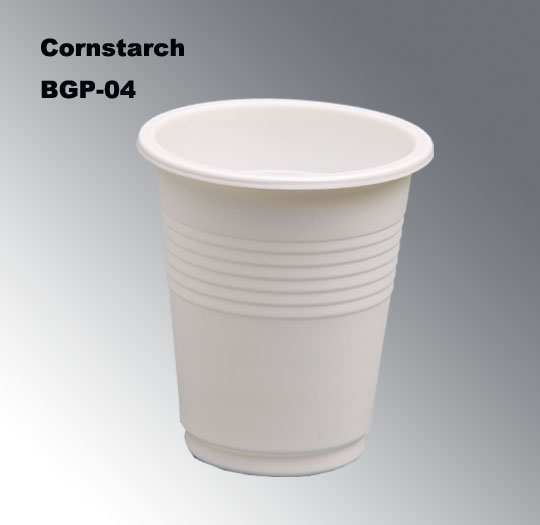 100% Biodegradable Disposable Cup From Natural Corn BGP-04