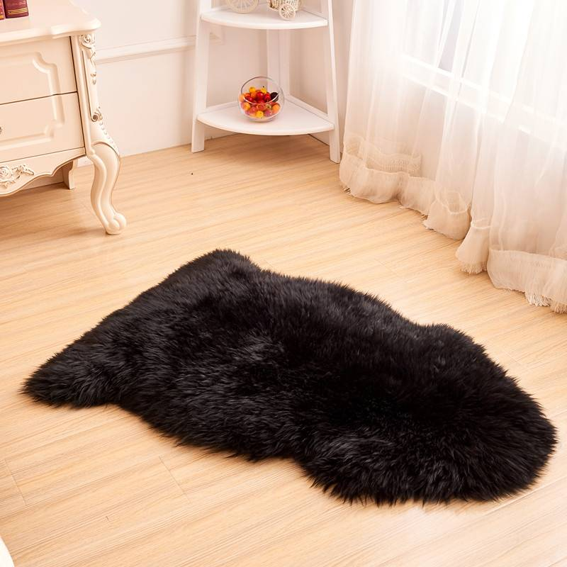 Sheepskin Long Fur Rug with Factory Price