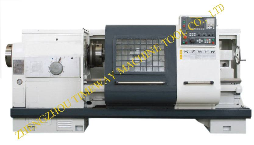 200mm Hollow Spindle / Pipe Threading CNC Lathe QK-190A