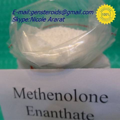 Methenolone Enanthate Raw Hormone Powder CAS:303-42-4