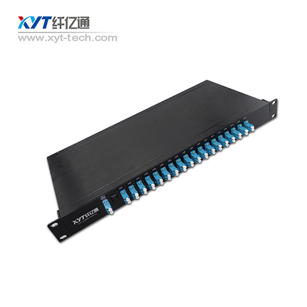 manufactory customized 4channel 8channel 16channel 1U Chassis DWDM mux demux Dual/single Fiber optic