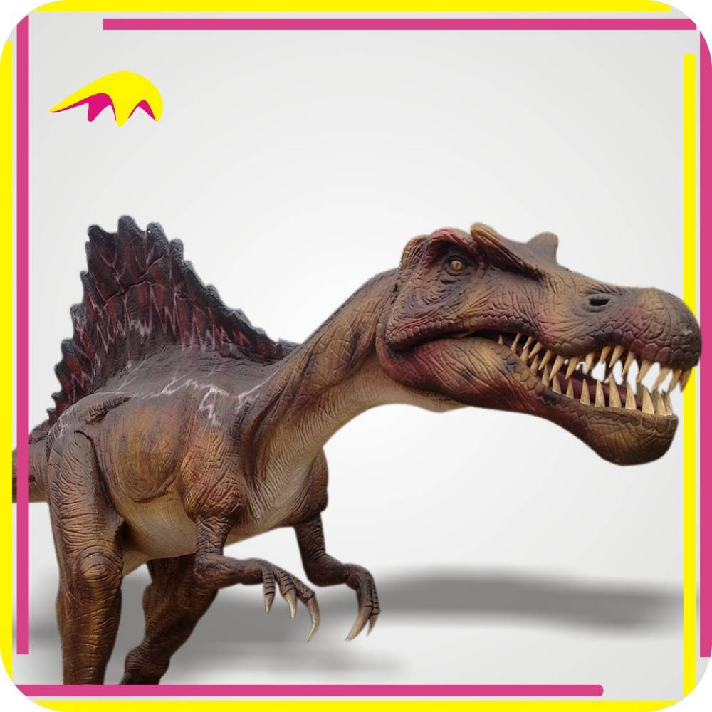 KANO4076 Amusement Park Highly detailed Animatronic Fake Dinosaur