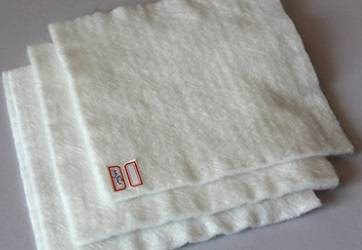 polyester staple fiber thermal bond nonwoven geotextile fabric