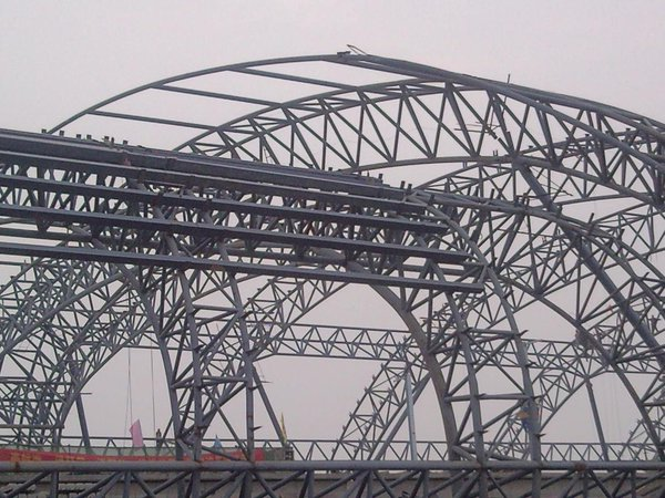 light steel structure workshop for construction