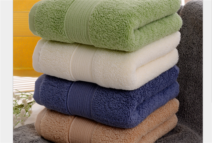 Solid Color, Long-staple Cotton Hotel Towel