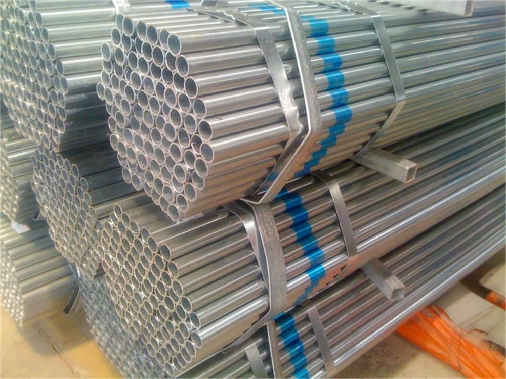 GB Q235 Hot DIP Galvanized Round Steel Pipe (Tube)