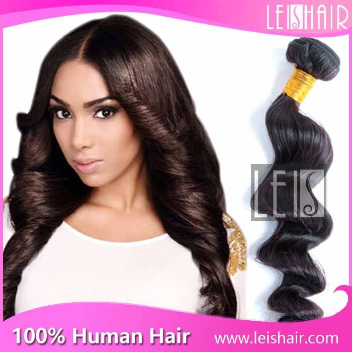 Unprocessed wholesale virgin brazilian loose wave hair