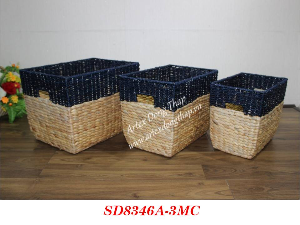 Basket for home decor and furniture - SD8346A-3MC
