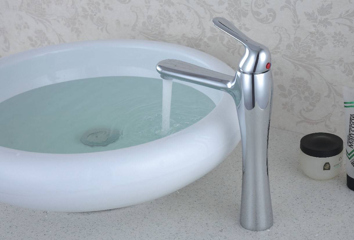 chrome basin
