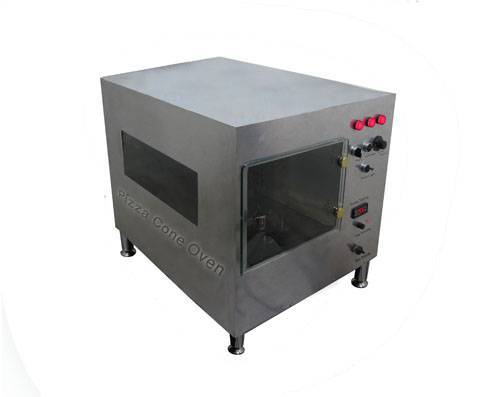 Pizza cone conveyor  indirect gas oven