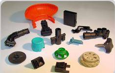 Plastic Injection Molding and molded Part