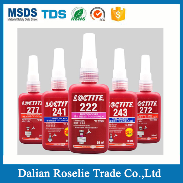 locktite 222 242 243 262 263 270 271 272 277 290 threadlocker adhesive