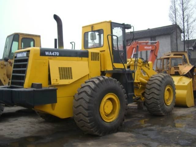 Used Komastu wa470 wheel loader