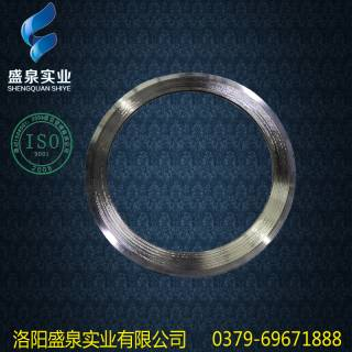 Stainless steel PTFE metal spiral wound gasket