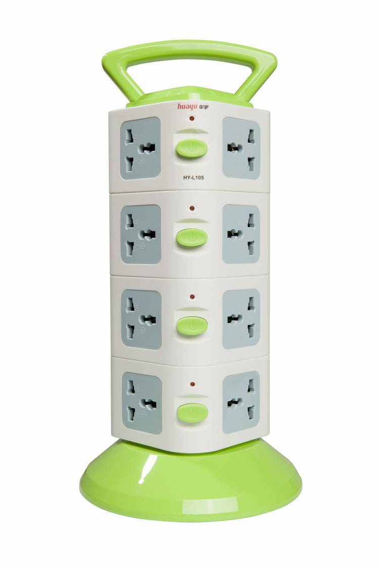 smart home socket with 16 universal outlets eg/eu/cn plug