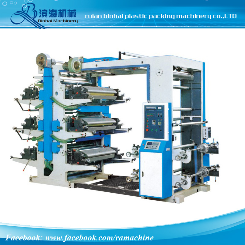 YT series 6 Color Flexo Printing machine