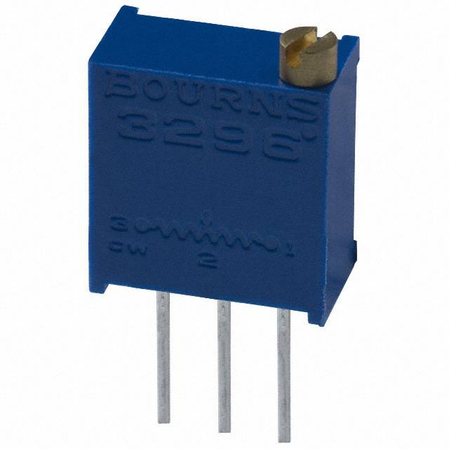 Potentiometers, Variable Resistors  Trimmer Potentiometers  Bourns Inc. 3296W-1-201LF TRIMMER 200 OH