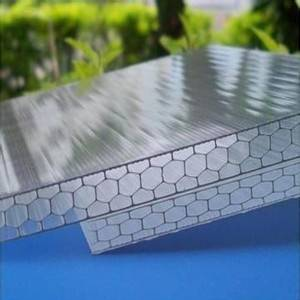 UNIQUE 8mm honeycomb polycarbonate sheet for swimming cover
