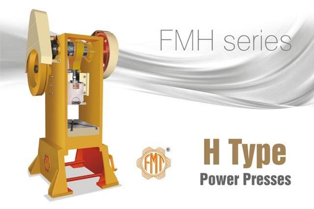 H Type or Pillar Frame Power Press