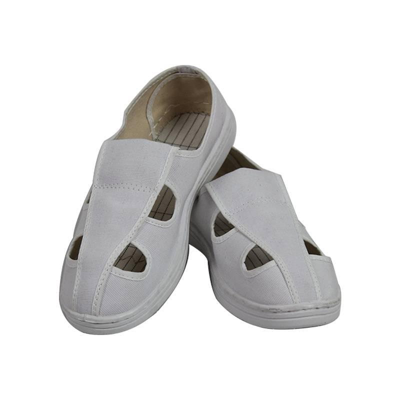 Unisex Breathable Non-Slip Anti Static White Shoe