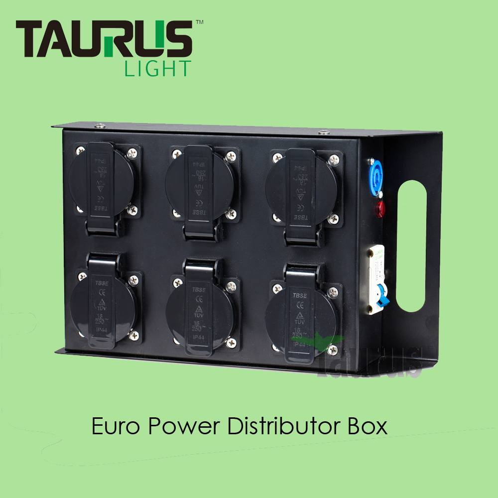 TPB-009 Powercon Power Distribution Box