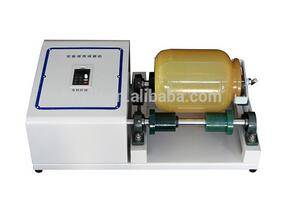 Laboratory fine powder grinding mini roll ball mill machine
