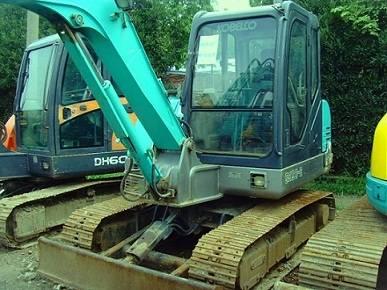 Used Kobelco SK60 Excavator